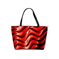 Fractal Mathematics Abstract Shoulder Handbags