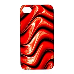 Fractal Mathematics Abstract Apple iPhone 4/4S Hardshell Case with Stand