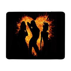 Heart Love Flame Girl Sexy Pose Samsung Galaxy Tab Pro 8 4  Flip Case