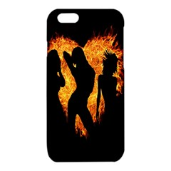 Heart Love Flame Girl Sexy Pose iPhone 6/6S TPU Case