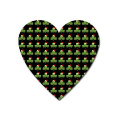 Irish Christmas Xmas Heart Magnet