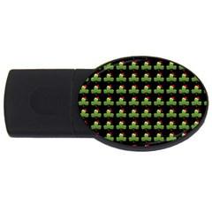 Irish Christmas Xmas Usb Flash Drive Oval (2 Gb)