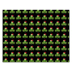 Irish Christmas Xmas Rectangular Jigsaw Puzzl