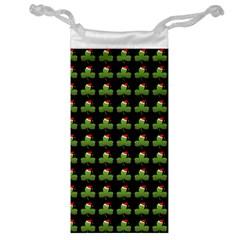 Irish Christmas Xmas Jewelry Bag