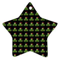 Irish Christmas Xmas Star Ornament (Two Sides)