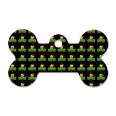 Irish Christmas Xmas Dog Tag Bone (One Side)