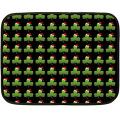 Irish Christmas Xmas Double Sided Fleece Blanket (Mini)