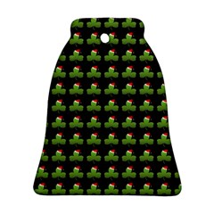 Irish Christmas Xmas Bell Ornament (Two Sides)