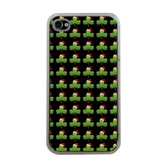 Irish Christmas Xmas Apple iPhone 4 Case (Clear)