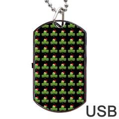 Irish Christmas Xmas Dog Tag USB Flash (One Side)