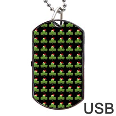 Irish Christmas Xmas Dog Tag USB Flash (Two Sides)