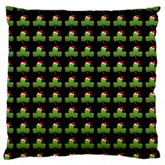 Irish Christmas Xmas Large Cushion Case (One Side)