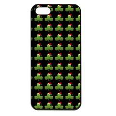 Irish Christmas Xmas Apple iPhone 5 Seamless Case (Black)