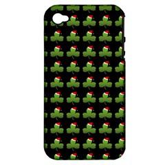 Irish Christmas Xmas Apple iPhone 4/4S Hardshell Case (PC+Silicone)