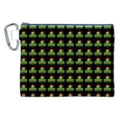 Irish Christmas Xmas Canvas Cosmetic Bag (xxl)