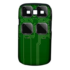 Green Circuit Board Pattern Samsung Galaxy S III Classic Hardshell Case (PC+Silicone)