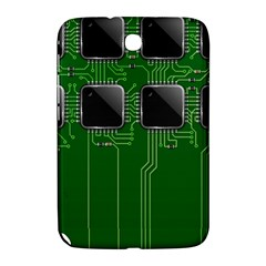 Green Circuit Board Pattern Samsung Galaxy Note 8 0 N5100 Hardshell Case