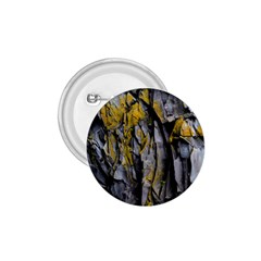 Grey Yellow Stone 1.75  Buttons