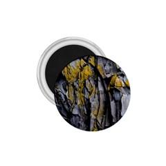 Grey Yellow Stone 1.75  Magnets
