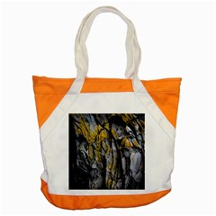 Grey Yellow Stone Accent Tote Bag