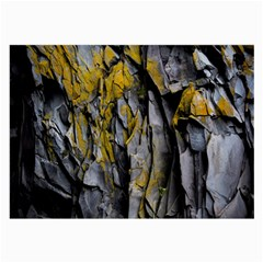 Grey Yellow Stone Large Glasses Cloth (2-Side)