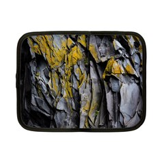 Grey Yellow Stone Netbook Case (small)