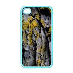 Grey Yellow Stone Apple iPhone 4 Case (Color)