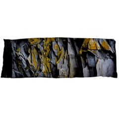 Grey Yellow Stone Body Pillow Case (Dakimakura)