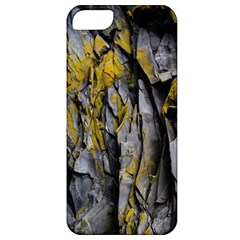 Grey Yellow Stone Apple iPhone 5 Classic Hardshell Case