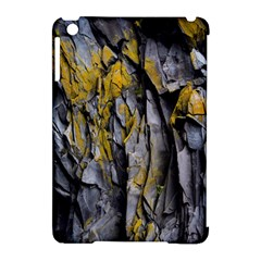 Grey Yellow Stone Apple iPad Mini Hardshell Case (Compatible with Smart Cover)