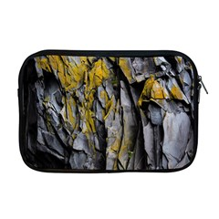 Grey Yellow Stone Apple Macbook Pro 17  Zipper Case