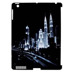 Kuala Lumpur Urban Night Building Apple iPad 3/4 Hardshell Case (Compatible with Smart Cover)
