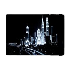 Kuala Lumpur Urban Night Building Apple iPad Mini Flip Case