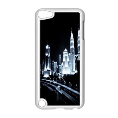 Kuala Lumpur Urban Night Building Apple iPod Touch 5 Case (White)