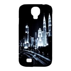 Kuala Lumpur Urban Night Building Samsung Galaxy S4 Classic Hardshell Case (PC+Silicone)