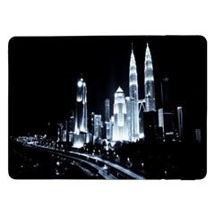 Kuala Lumpur Urban Night Building Samsung Galaxy Tab Pro 12.2  Flip Case