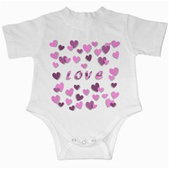 Love Valentine S Day 3d Fabric Infant Creepers