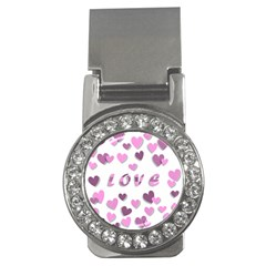 Love Valentine S Day 3d Fabric Money Clips (CZ)