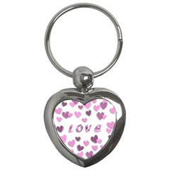 Love Valentine S Day 3d Fabric Key Chains (Heart)