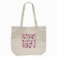 Love Valentine S Day 3d Fabric Tote Bag (Cream)