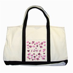 Love Valentine S Day 3d Fabric Two Tone Tote Bag