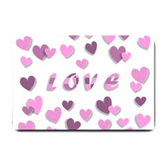 Love Valentine S Day 3d Fabric Small Doormat
