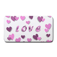 Love Valentine S Day 3d Fabric Medium Bar Mats
