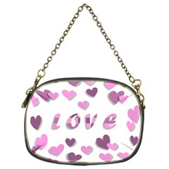 Love Valentine S Day 3d Fabric Chain Purses (Two Sides)