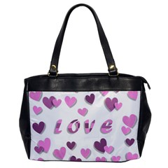 Love Valentine S Day 3d Fabric Office Handbags