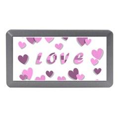 Love Valentine S Day 3d Fabric Memory Card Reader (Mini)