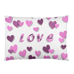 Love Valentine S Day 3d Fabric Pillow Case (Two Sides)