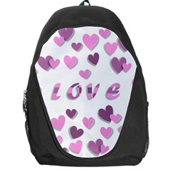 Love Valentine S Day 3d Fabric Backpack Bag