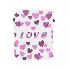 Love Valentine S Day 3d Fabric Apple Ipad 2/3/4 Protective Soft Cases