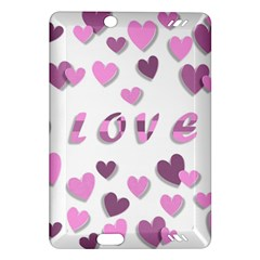 Love Valentine S Day 3d Fabric Amazon Kindle Fire Hd (2013) Hardshell Case